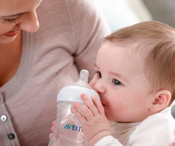 Lactancia materna mixta OMS