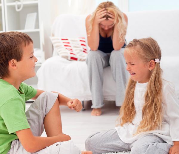 Niños desobedientes de 3 a 5 años