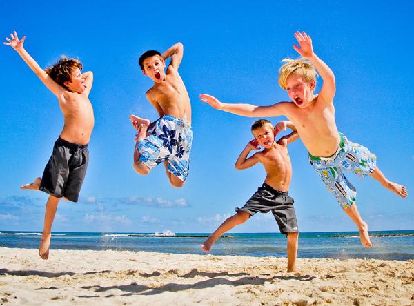 Vacaciones con niños pequeños