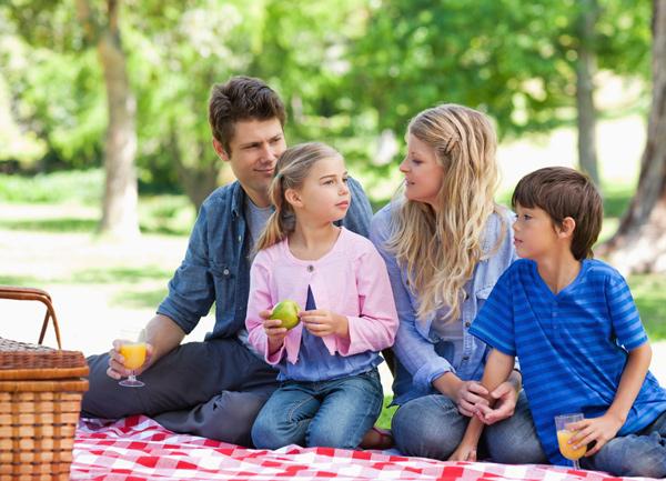 Viajes con niños en el campo
