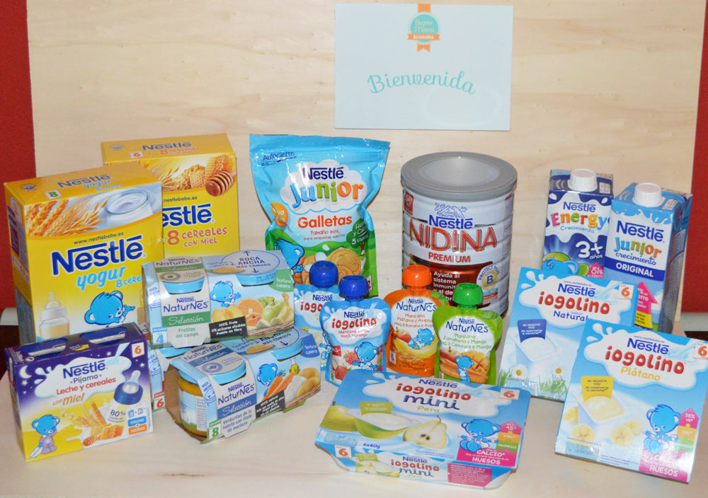 Productos Nestlé - Supermamis blogueras