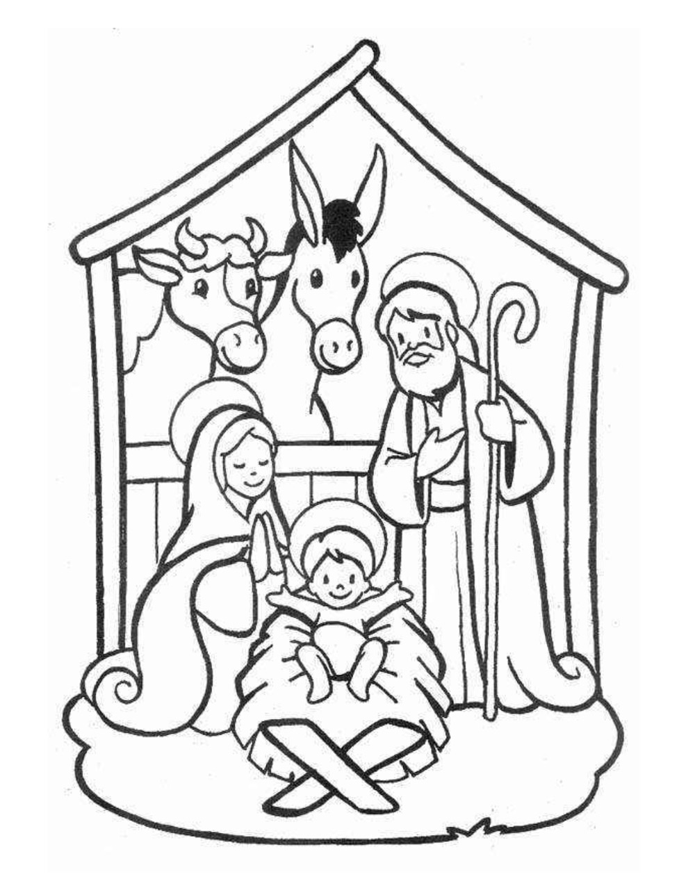 Dibujos navide os para colorear e imprimir gratis - Dibujos infantiles originales ...