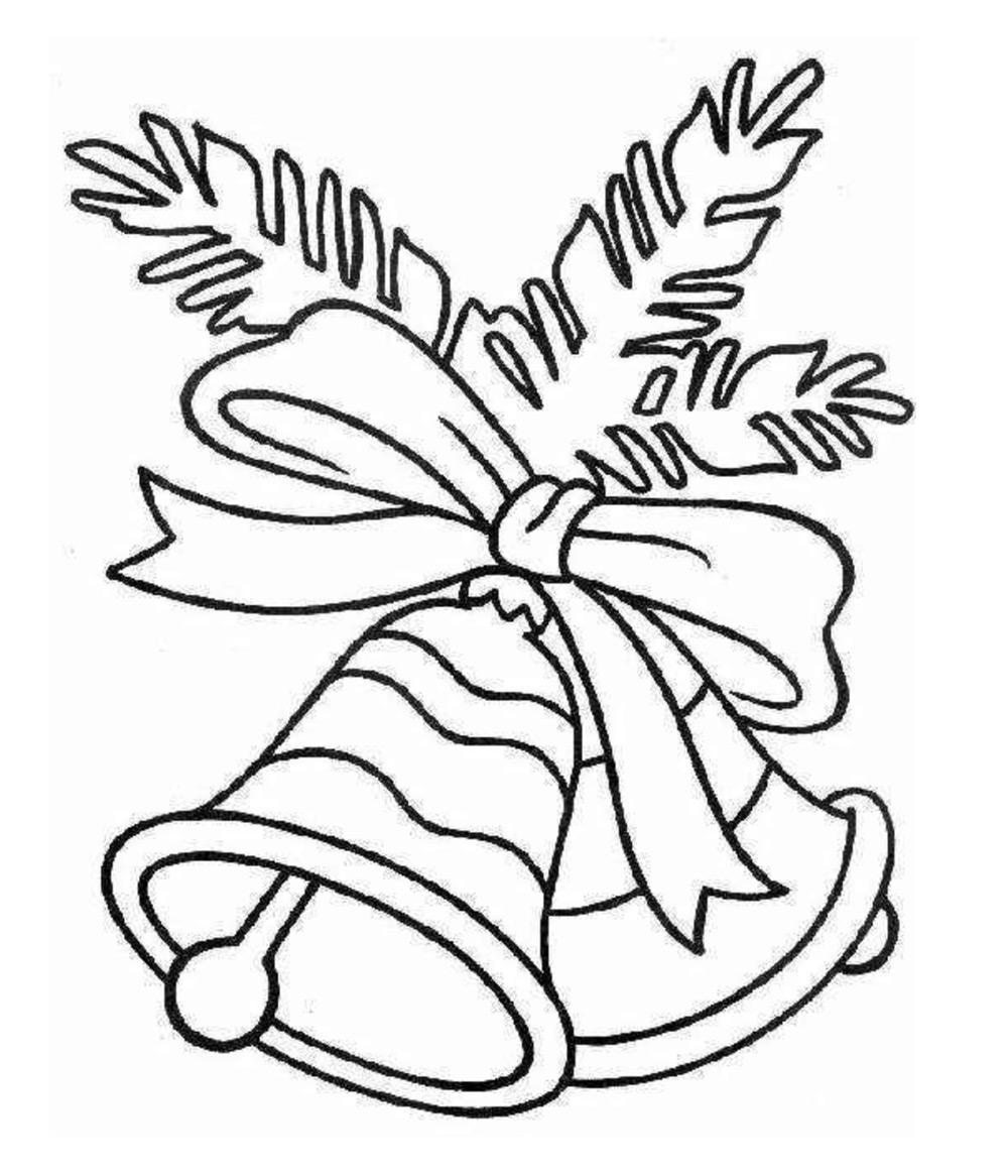 Dibujos navideños para imprimir