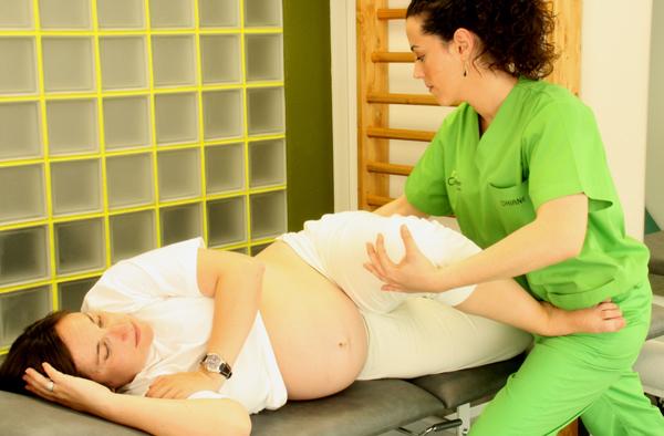 Masaje y embarazo