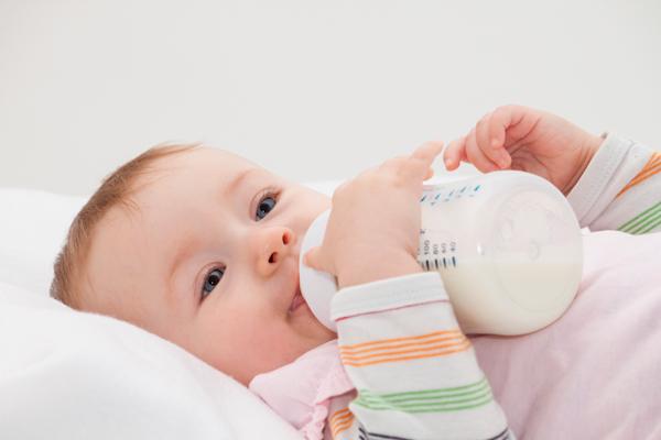 caries del biberón bebés
