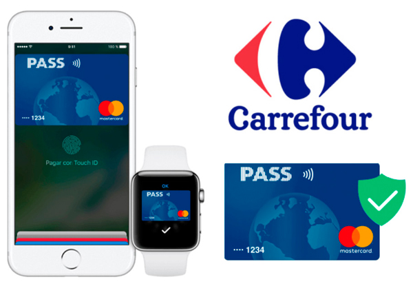 Pago con el movil Apple Pay Carrefour