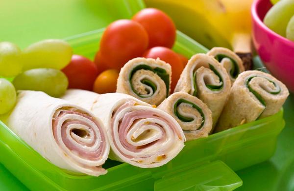 Menús para niños (meriendas saludables)