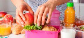 5 menús para niños para llevar a la escuela y comer sano