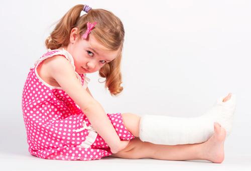 fracturas en niños pequeños