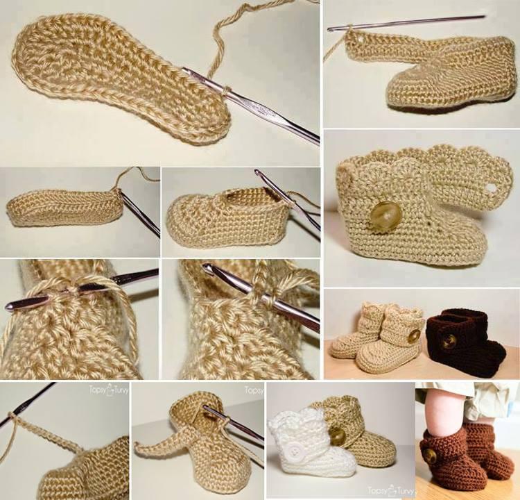 patrones crochet bebe paso a paso