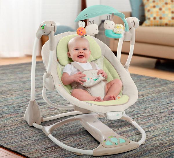 Los mejores columpios para beb s calidad precio ebdtb for Silla mecedora para bebe