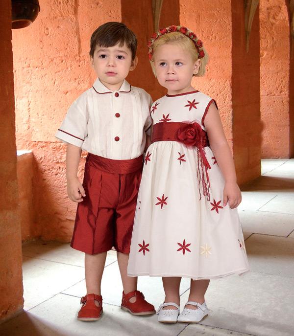 ropa de ceremonia para niños