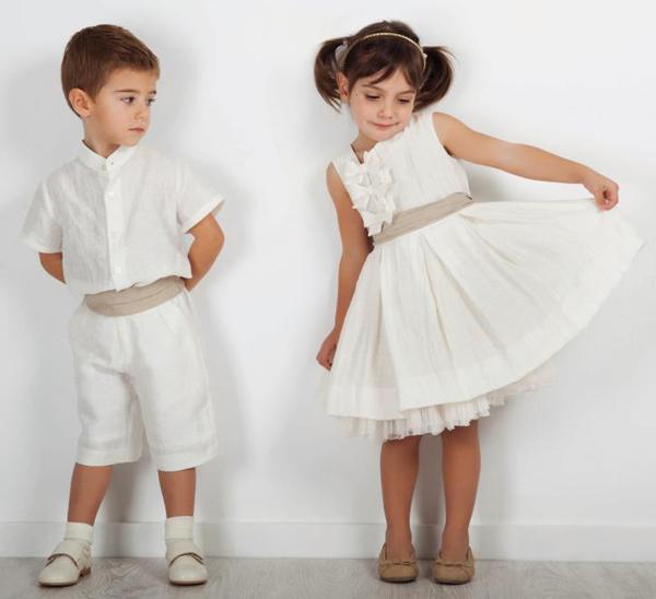 traje niños para boda