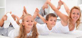 Yoga para niños; ¡Las mejores posturas para practicar en casa!
