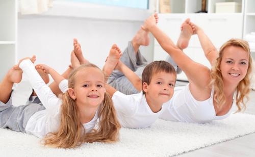 Yoga para ni os las mejores posturas para el hogar - Inicio yoga en casa ...