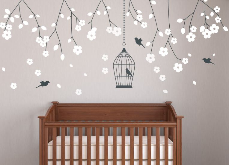 Vinilos infantiles originales mejor recopilaci n for Habitacion bebe con vinilos