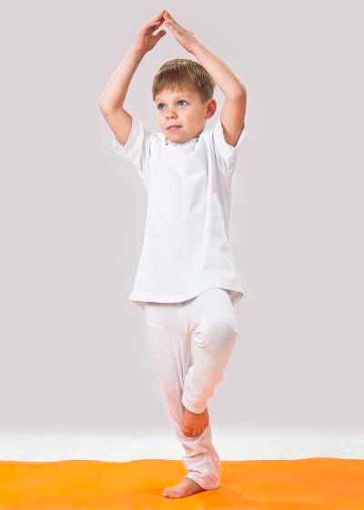 yoga avanzado niños
