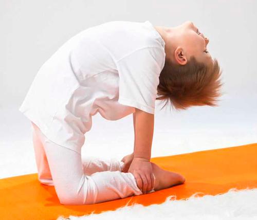 yoga para niños fácil