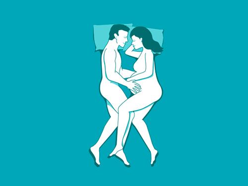Posturas sexuales embarazo