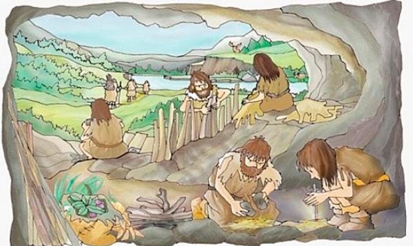 animales prehistoria para niños