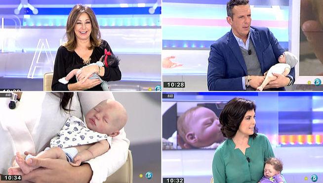 famosos con bebes reborn