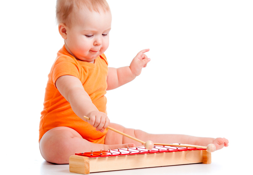 música Mozart niños pequeños