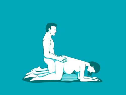 posturas sexuales cómodas