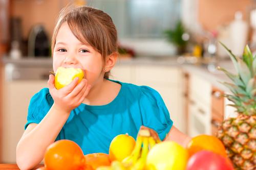 Dieta obesidad niños