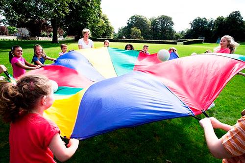 comprar paracaidas para animacion infantil