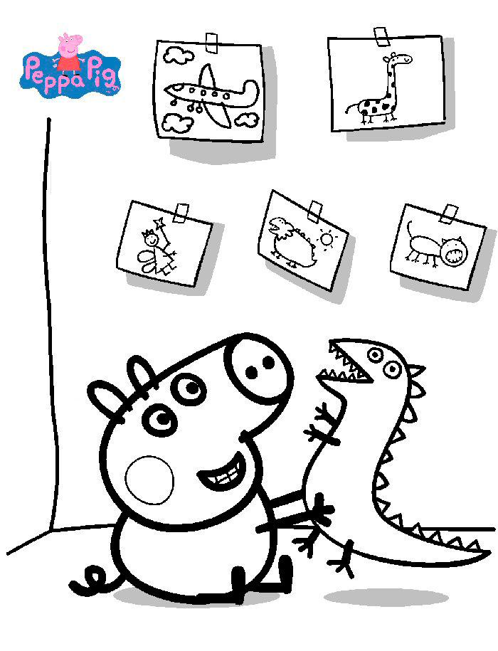 dibujitos de peppa pig