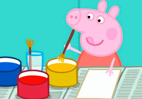 dibujos de la peppa pig