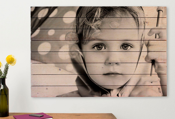 imprimir foto en madera
