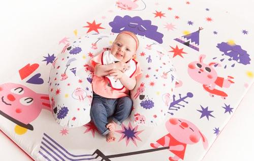mantas juegos para bebes SleepAA
