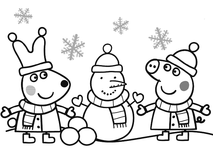 peppa pig coloring pages abcs - photo#8