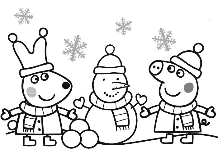 peppa pig para colorear.  peppa pig colorear Dibujos de Peppa Pig para Imprimir y Colorear GRATIS