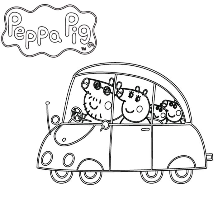 peppa pig colorear online
