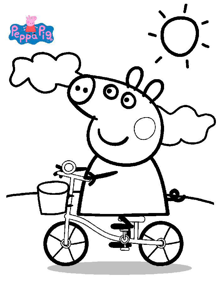 Dibujos De Peppa Pig Para Imprimir Y Colorear Gratis