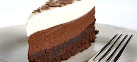 Tarta de tres chocolates paso a paso; ¡Muy sencilla!