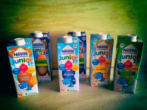 Nestlé Junior Crecimiento - SuperMamis Nestle
