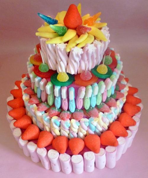 fotos de tartas de chuches