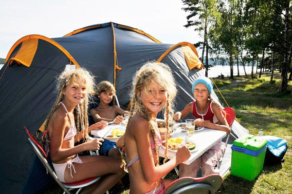 ir de camping en verano