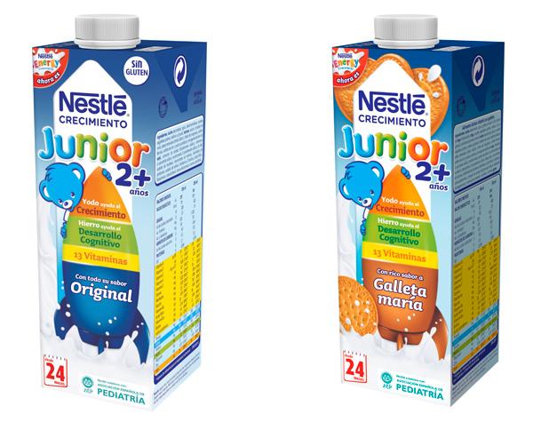 leche para niños nestlé energy