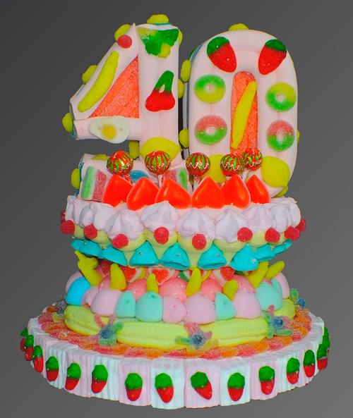 tartas graciosas de cumpleaños