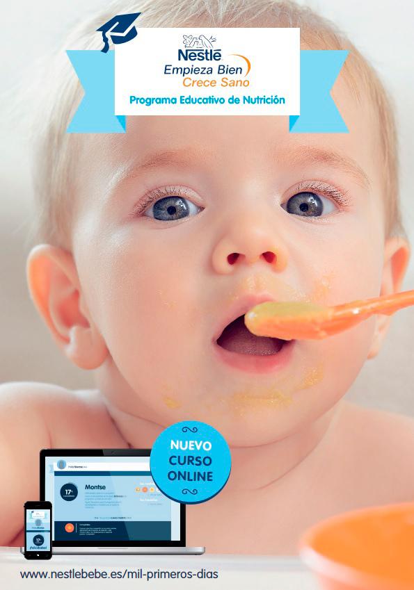 Curso online puericultura Nestle Bebe