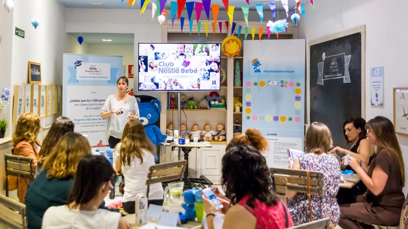 Evento Nestlé bebé - Super Mamis
