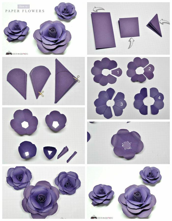flores manualidades faciles