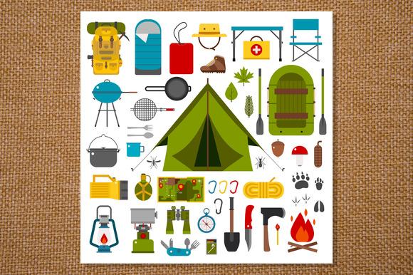 objetos imprescindibles para ir de acampada