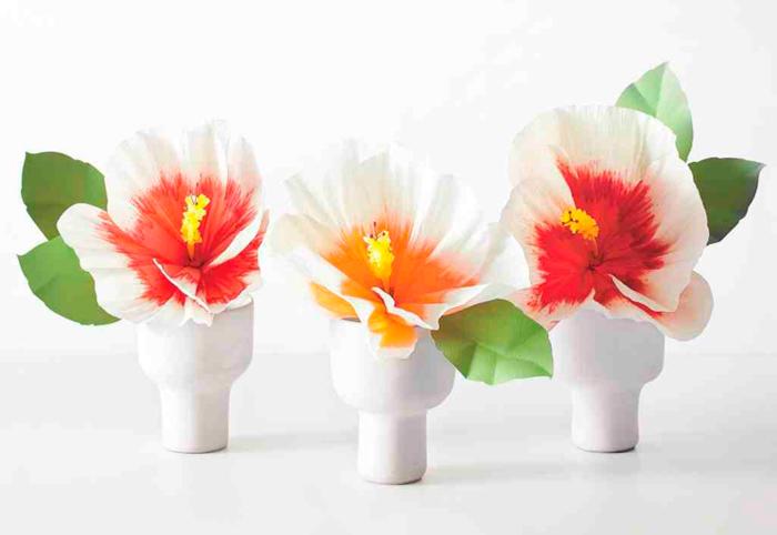 Como Hacer Flores De Papel Faciles Imagenes Y Videos