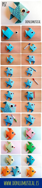origami facil para niños