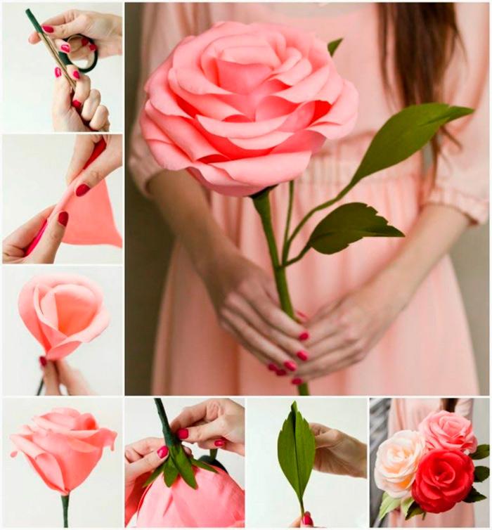 Cmo Hacer Flores de Papel Fciles Imgenes y Vdeos